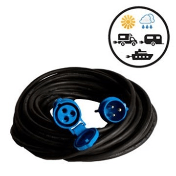 Cable 40mt 3x2.5 camping